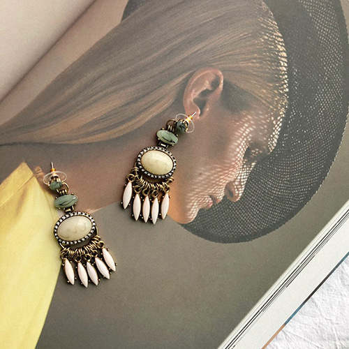 Cele antique earring