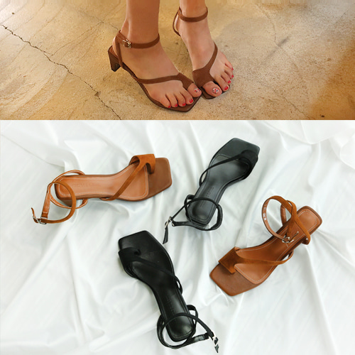 toe strap shoes